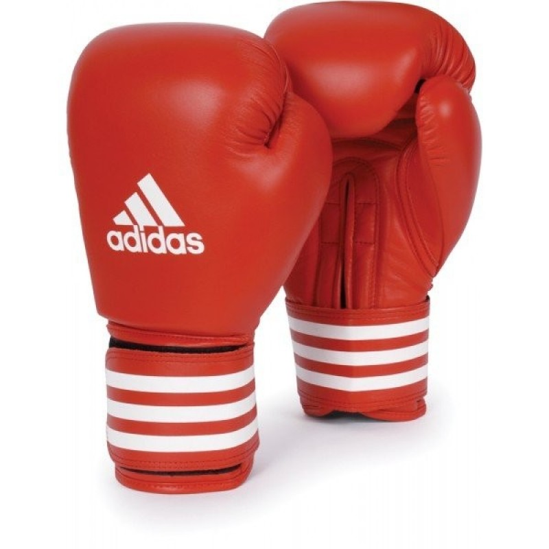Adidas AIBA Licensed Boxing Gloves RED 10 OZ