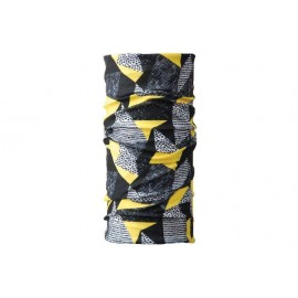 BANDANA VIKING MOTIVES yellow-black-grey