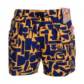 "Shorce VINTAGE PRT 14"" WSHT AM NAVY/ORANGE"